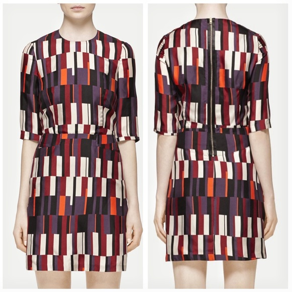 rag & bone Dresses & Skirts - Rag & Bone Anne Silk Dress in the color Bus Seat